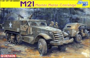 โมเดลรถทหาร Dragon DR6362 M21 Mortar Motor Carriage 1/35