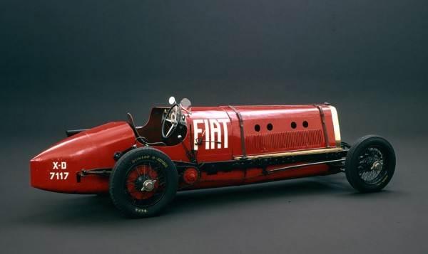 โมเดลรถ ITALERI FIAT MEFISTOFELE 21706 c.c. 1/12 4