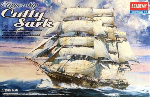 โมเดลเรือสำเภาสามเสาลำเล็ก 14110 ACADEMY Cutty Sark 1 : 350 ขาย