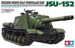 โมเดลรถถังพิฆาตขนาดหนัก JSU-152 Russian Self-Propelled Gun 1/35