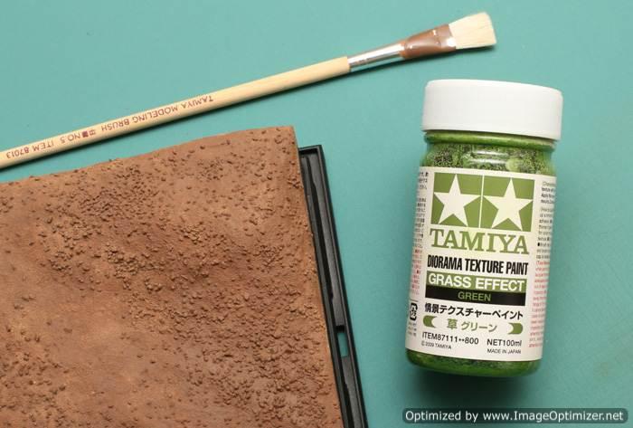Diorama Texture Paint Grass Effect Green (หญ้า)