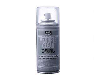 สีเคลือบด้าน MR.SUPER CLEAR MATT 170 ML