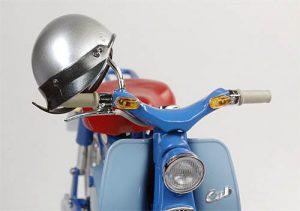 โมเดลรถมอเตอร์ไซค์ Fujimi Honda Super Cub 1958 1 : 12