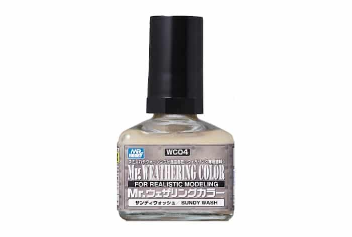 สีคราบทราย MR WEATHERING COLOR SANDY WASH wc04