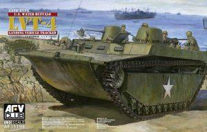 โมเดลรถสะเทินน้ำสะเทินบก AFV LVT-4 Late Type 1 : 35 ขาย
