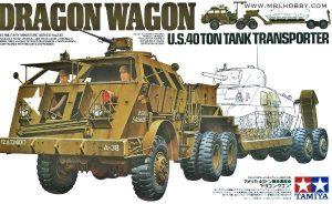 รถขนส่งรถถังทามิย่า 35230 TAMIYA DRAGON WAGON