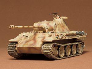 โมเดลรถถังขนาดกลาง German Panther Ausf A 1/35