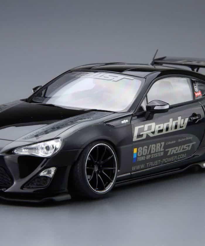 โมเดลรถยนต์ประกอบ Aoshima 86 ROCKET BUNNY VOLK RACING Ver