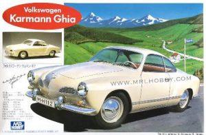 โมเดลประกอบรถยนต์ Gunze Volkswage Karmann Ghia 1 : 24 ขาย