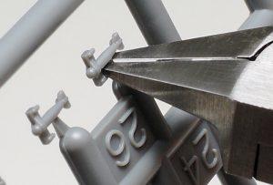 คีมเทพ 74123 Sharp Pointed Side Cutter Slim Jaw