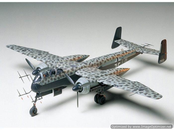โมเดลเครื่องบินทามิย่า Heinkel He 219A-7 Uhu 1/48
