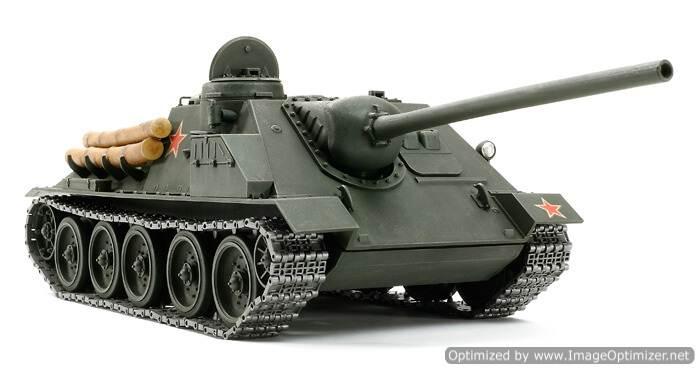 รถถังทามิย่า 25104 Russian SU-100