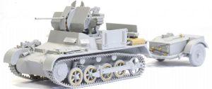 โมเดลรถถัง Dragon DR6577 Flakpanzer I 1/35