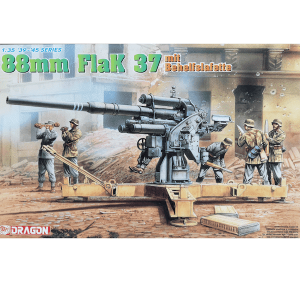 โมเดล ปืนใหญ่ German 88mm Gun Flak37 Basic Barbette Type 1/35