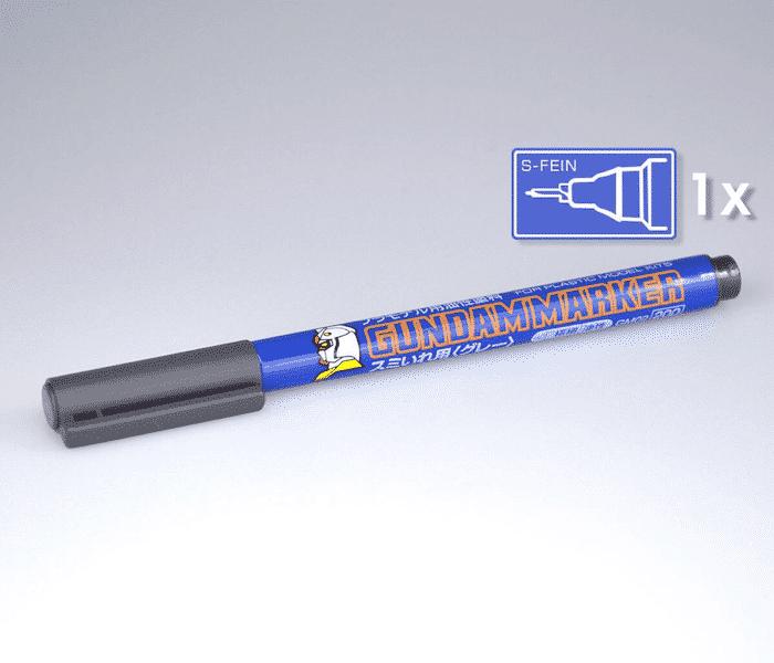 ปากกากันดั้มมาร์คเกอร์ GM02 GUNDAM MARKER เทา