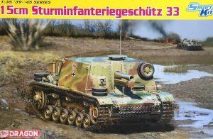 โมเดลรถถัง Dragon DR6749 15cm Sturminfanteriegeschutz 33 1/35