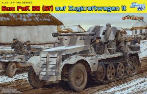 โมเดลรถถัง Dragon DR6719 5cm PaK 38 auf Zugkraftwagen 1t 1/35