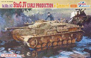 โมเดลรถถัง Dragon DR6576 StuG.IV Early Production with Zimmerit 1/35