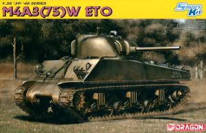 โมเดลรถถัง DRAGON DR6698 M4A3 (75) W Eto 1/35