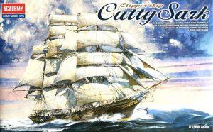 โมเดลเรือสำเภาสามเสา Academy Clipper Cutty Sark 1/150