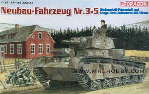 จำหน่าย โมเดลรถถังรถถังขนาดหนัก Dragon Neubau-Fahrzeung Nr.3-5 1/35