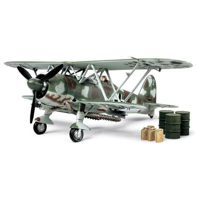 เครื่องบินทามิย่า 89722 Fiat CR42 Luftwaffe