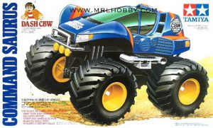 รถทามิยา mini 4wd DASH CBW COMMAND SAURUS 1 : 32