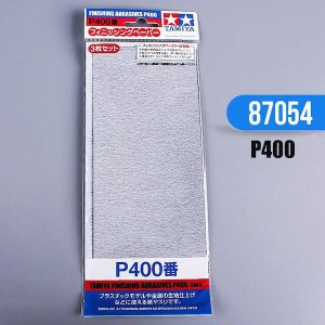 กระดาษทราย ทามิย่า Finishing Abrasives P400 3 แผ่น
