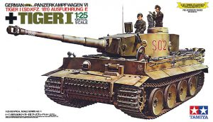 โมเดลรถถังไทเกอร์วันทามิย่า 30611 GERMAN HEAVY TANK TIGER I 1/25