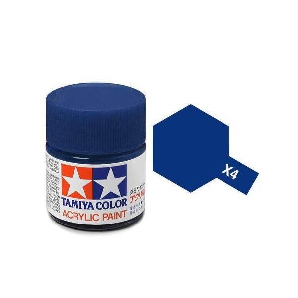 สีสูตรน้ำ TAMIYA X-4 Blue