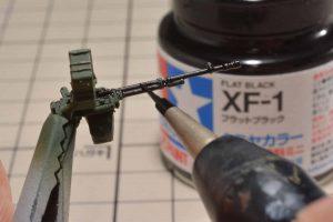สีสูตรน้ำ TAMIYA XF-1 Flat black