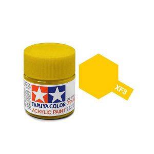 สีสูตรน้ำ TAMIYA XF-3 Flat Yellow
