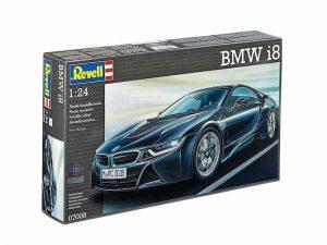โมเดลประกอบ รถยนต์บีเอ็ม Revell BMW i8 1/24