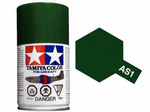 สีสเปรย์ทามิย่า Tamiya AS-1 Dark Green IJN