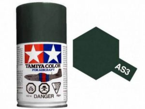 สีสเปรย์ทามิย่า Tamiya AS-3 Gray Green Luftwaffe