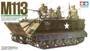 โมเดลประกอบรถถังทามิย่า US M113 A P C 1 : 35 ขาย