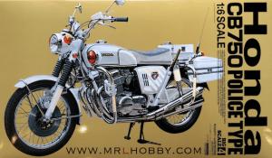 โมเดลรถมอเตอร์ไซค์ ทามิย่า Honda CB750 Police Bike 1/6