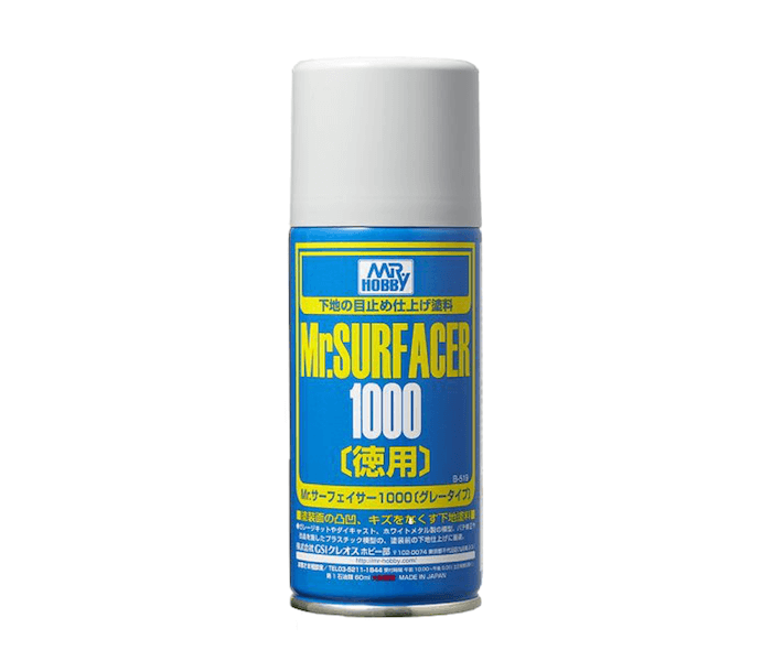 สีรองพื้น MR.SURFACER 1000 SPRAY DELUXE