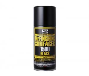 สีรองพื้นดำ MR.FINISHING SURFACER 1500 BLACK