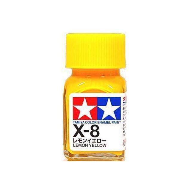 สีเหลือง TAMIYA X-8 Lemon Yellow