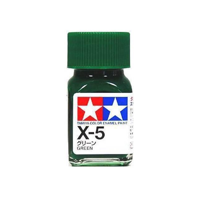 สีเขียว TAMIYA X-5 Green