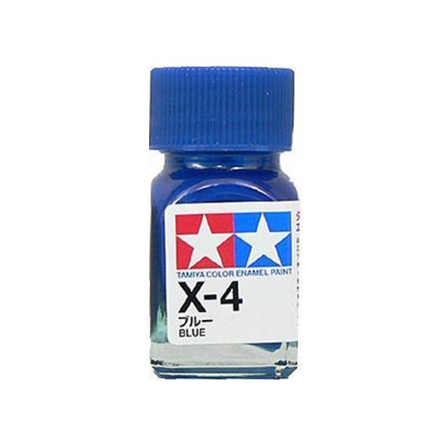 สีน้ำเงิน TAMIYA X-4 BLUE