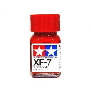 สีทามิย่า TAMIYA XF-7 FLAT RED