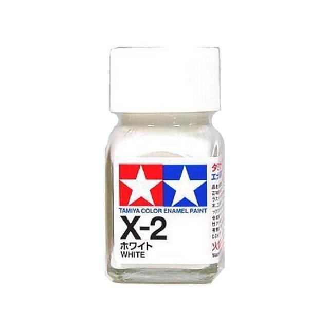 สีขาว TAMIYA X-2 white