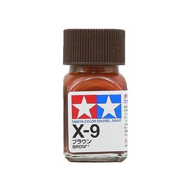 สีน้ำตาล TAMIYA X-9 BROWN
