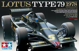 โมเดลประกอบรถยนต์ทามิย่า Lotus Type 79 1978 1/20