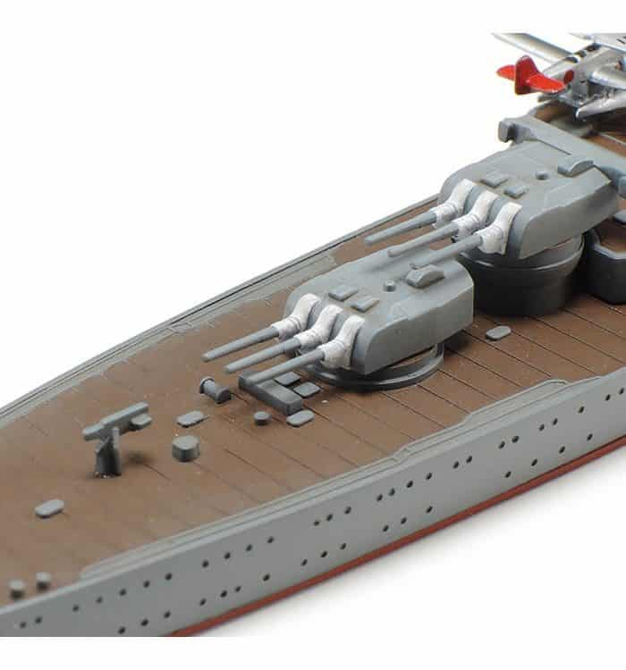 โมเดลเรือลาดตระเวนหนัก IJN Light Cruiser Mogami 1/700