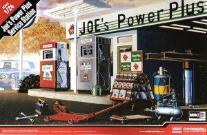 ชุดโมเดลปั้มน้ำมัน JOE's Power Plus Service Station 1/24