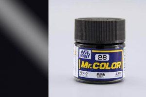 สีกันเซ่ สูตรแลกเกอร์ Mr Color C028 steel