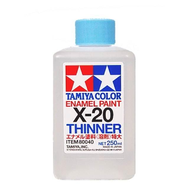 ทินเนอร์ทามิย่า Thinner X-20 250ml